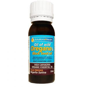 50ml Bottle – Oil of Wild Oregano & Black Seed Oil