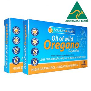 12 Capsule Blister Pack – Oil of Wild Oregano – Twin Pack